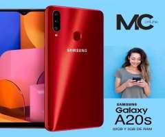 Celular Samsung Galaxy A20s 32gb con Envio a Domicilio